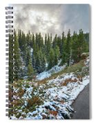 Autumn And Winter In One Spiral Notebook