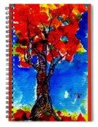Autumn Spiral Notebook