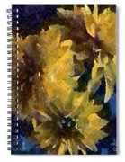 Autumn Asters Spiral Notebook