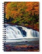 Autumn At Buttermilk Falls Spiral Notebook