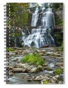 Autumn At Chittenango Falls Spiral Notebook