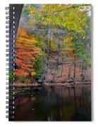 Autumn At Echo Bridge Spiral Notebook