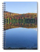 Autumn At Heart Lake Spiral Notebook