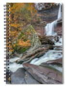 Autumn At Kaaterskill Falls Spiral Notebook