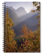 Autumn At Logan Pass Spiral Notebook