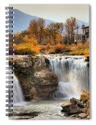 Autumn At Lundbreck Falls Provincial Park Spiral Notebook