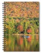 Autumn At North Lake Spiral Notebook