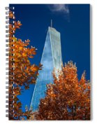 Autumn At One Wtc Spiral Notebook
