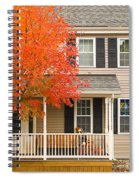 Autumn At The Inn Spiral Notebook