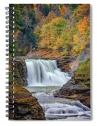 Autumn At The Lower Falls Spiral Notebook