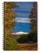 Autumn At The Rocks Estate Spiral Notebook