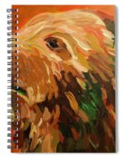 Autumn Bear Spiral Notebook