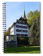 Castle In September Spiral Notebook