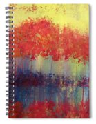 Autumn Bleed Spiral Notebook