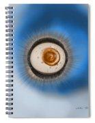 Autumn Blues Spiral Notebook
