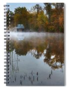 Autumn Boathouse Spiral Notebook