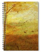 Autumn Breeze Spiral Notebook
