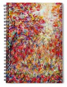 Autumn Brilliance Spiral Notebook