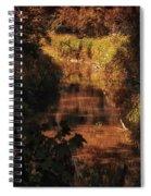 Autumn By The Argyle Creek Spiral Notebook