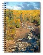 Autumn Color Along Beaver River Spiral Notebook