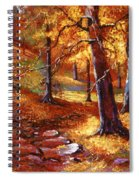 Autumn Color Palette Spiral Notebook