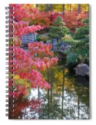 Autumn Color Reflection - Digital Painting Spiral Notebook