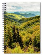 Autumn Colors In The Smokies Spiral Notebook