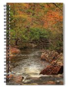 Autumn Colors On Pickle Creek 1 Spiral Notebook