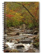 Autumn Colors On Pickle Creek 2 Spiral Notebook