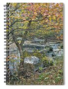 Autumn Comes To The Unami Creek Spiral Notebook