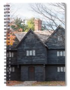 Autumn Comes To The Witch House Spiral Notebook