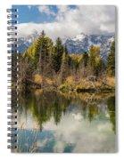 Autumn Day At Schwabacher's Landing Spiral Notebook