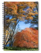 Autumn Day Spiral Notebook