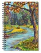 Autumn Daze Splendor  Spiral Notebook