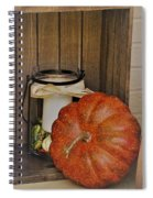 Autumn Decor 2 Spiral Notebook