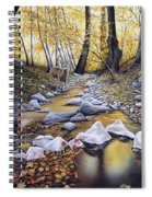 Autumn Deer Spiral Notebook