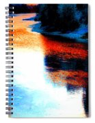 Autumn Down By The River Spiral Notebook