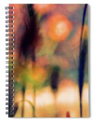 Autumn Dreams Abstract Spiral Notebook