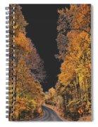 Autumn Drive 2 Spiral Notebook
