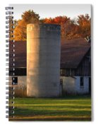 Autumn Evening Spiral Notebook
