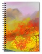 Autumn Expression Spiral Notebook