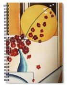 Autumn Fall Spiral Notebook