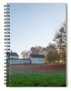 Autumn - Farm At Valley Forge Spiral Notebook