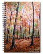 Autumn Forrest Spiral Notebook