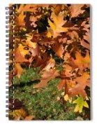 Autumn Fragrance Spiral Notebook