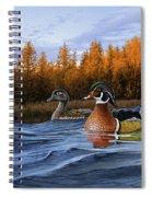 Autumn Front Spiral Notebook