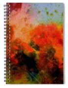 Autumn Garden Spiral Notebook