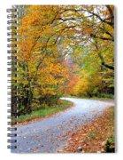 Autumn Glory Spiral Notebook