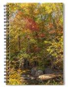 Autumn Glory - Unami Creek Sumneytown Pennsylvania Usa Spiral Notebook