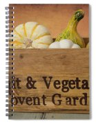 Autumn Harvest Spiral Notebook